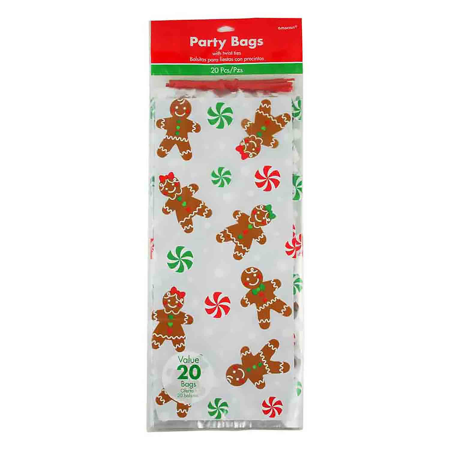 Gingerbread Treat Bags