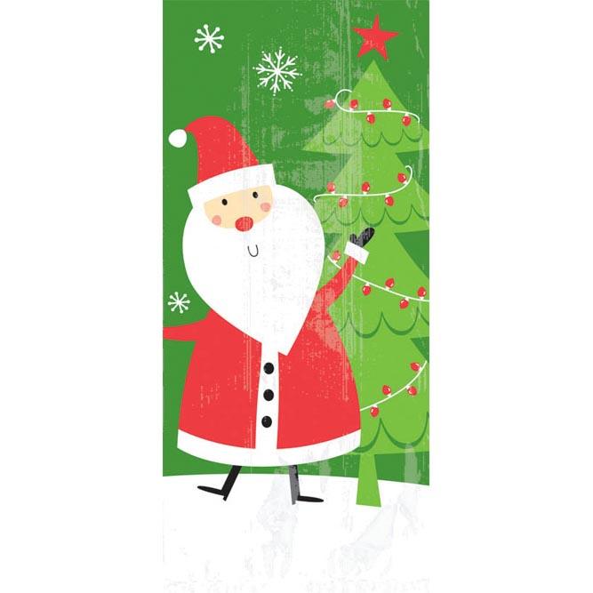 Party Bags - Santa, Large