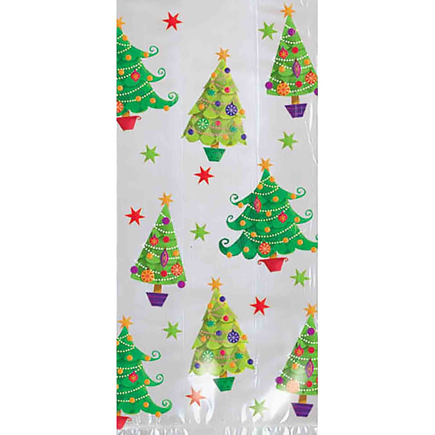 Party Bag - Christmas Trees, Small