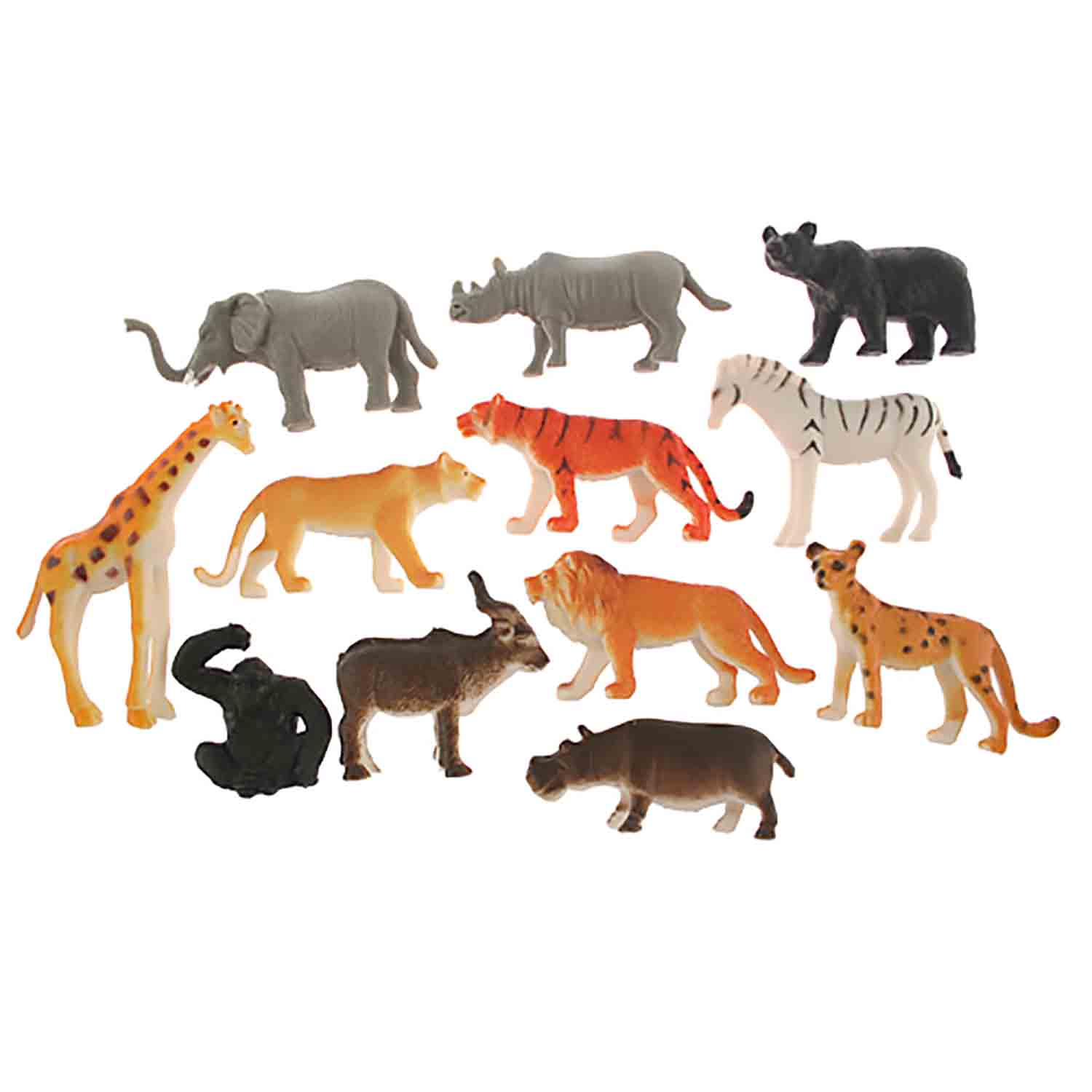 Jungle Animal Assortment