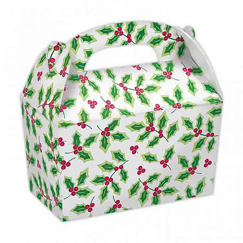 3 lb. Holly Treat Box