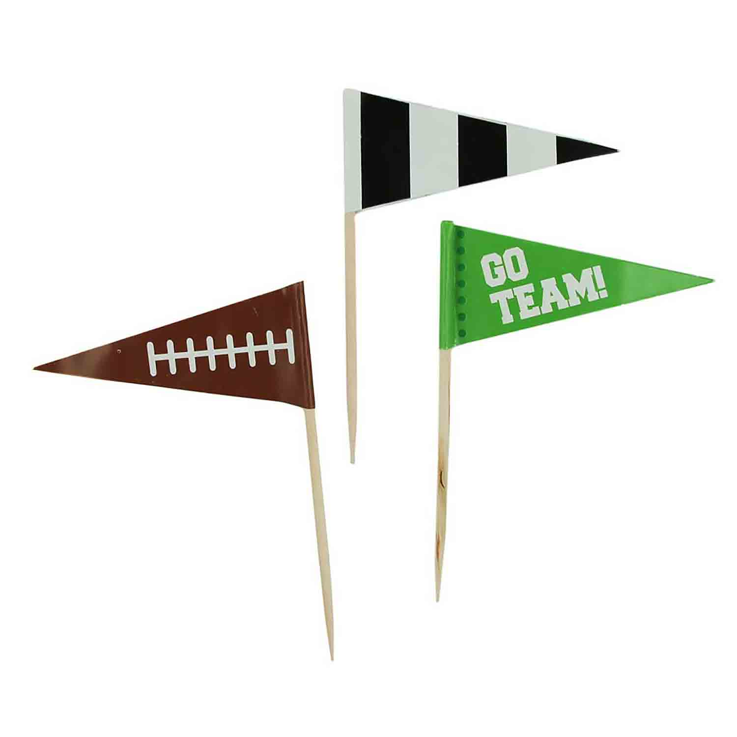 Football Flags Party Picks