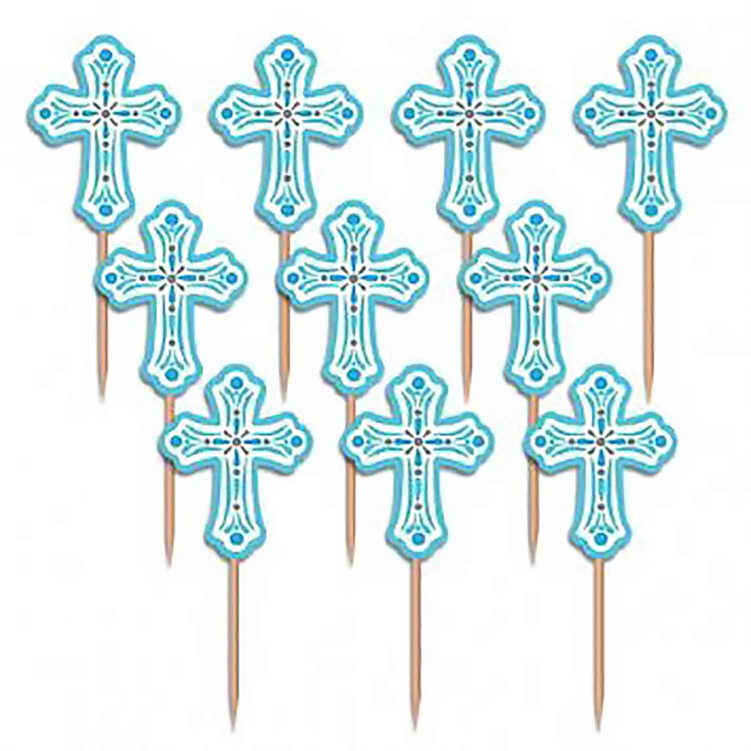 Religious Cake and Cupcake Toppers and Decorations