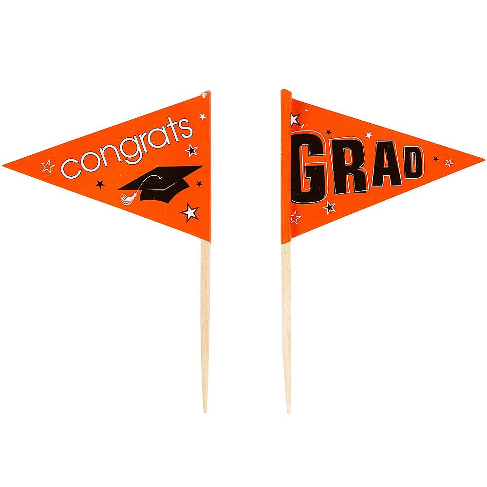Orange School Pride Graduation Picks