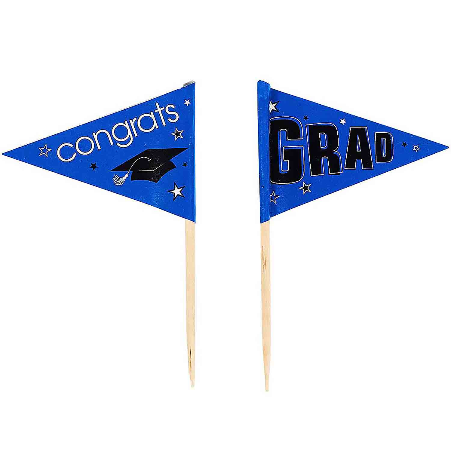 Royal Blue School Pride Graduation Picks