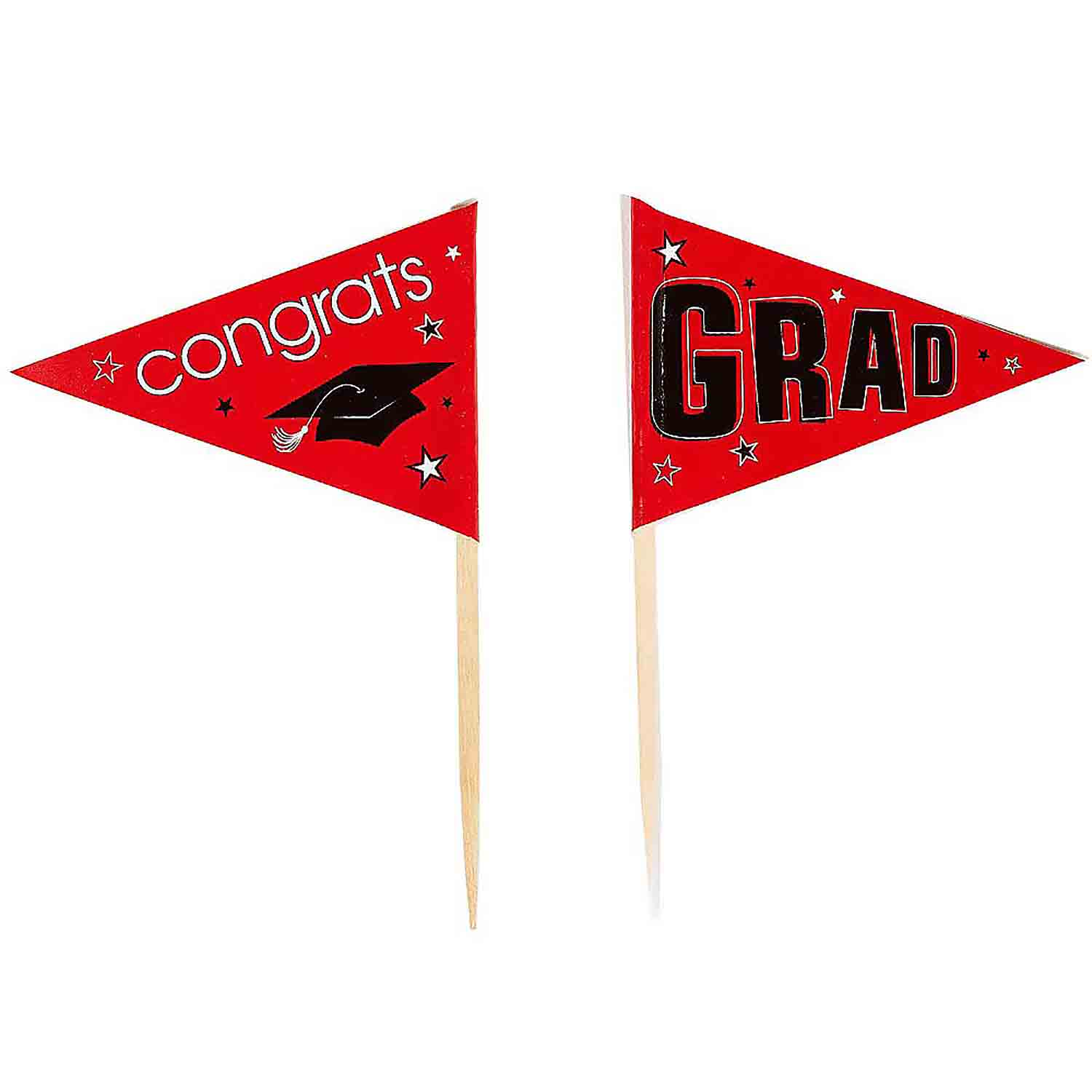 Red School Pride Graduation Picks