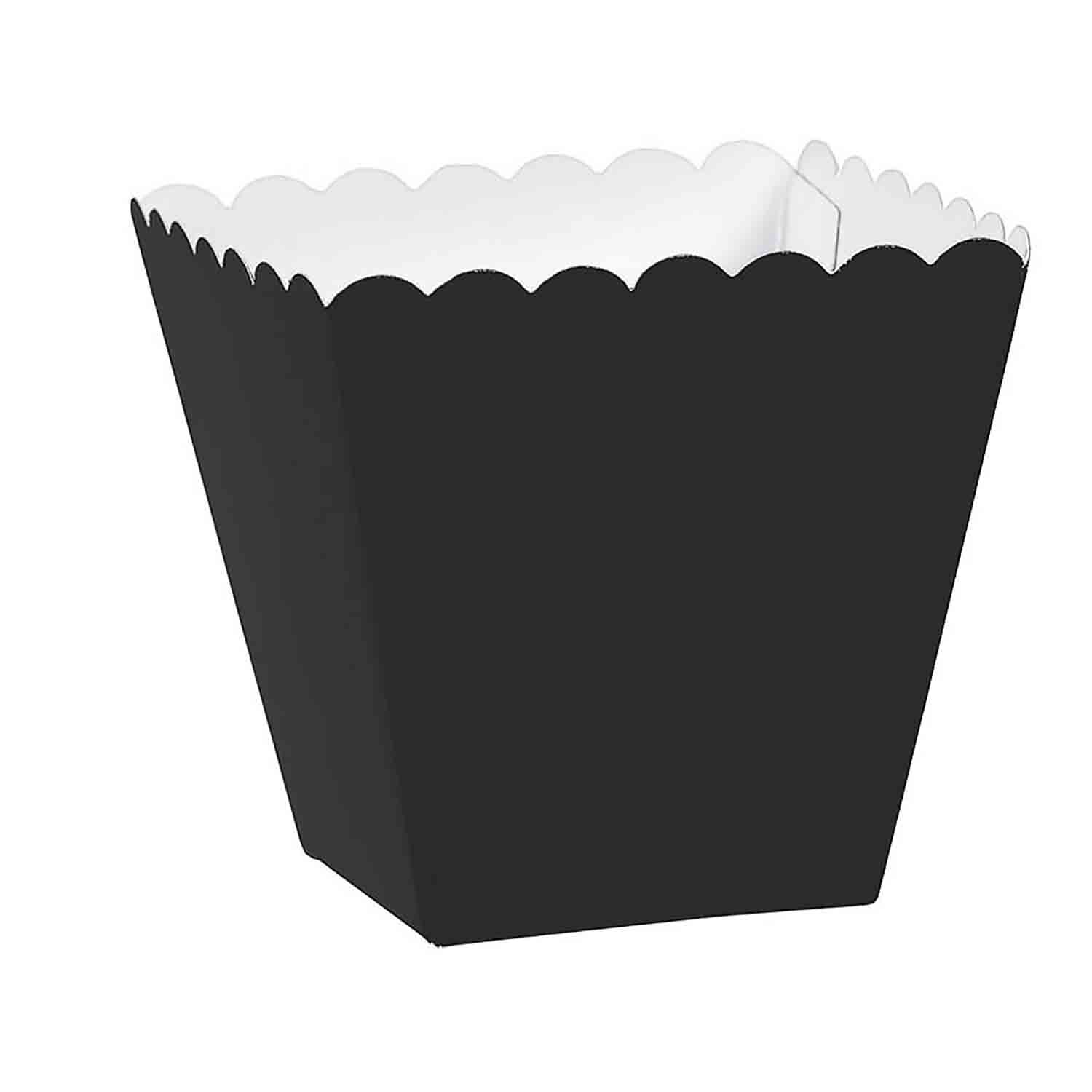 1/8 lb. Black Favor Box