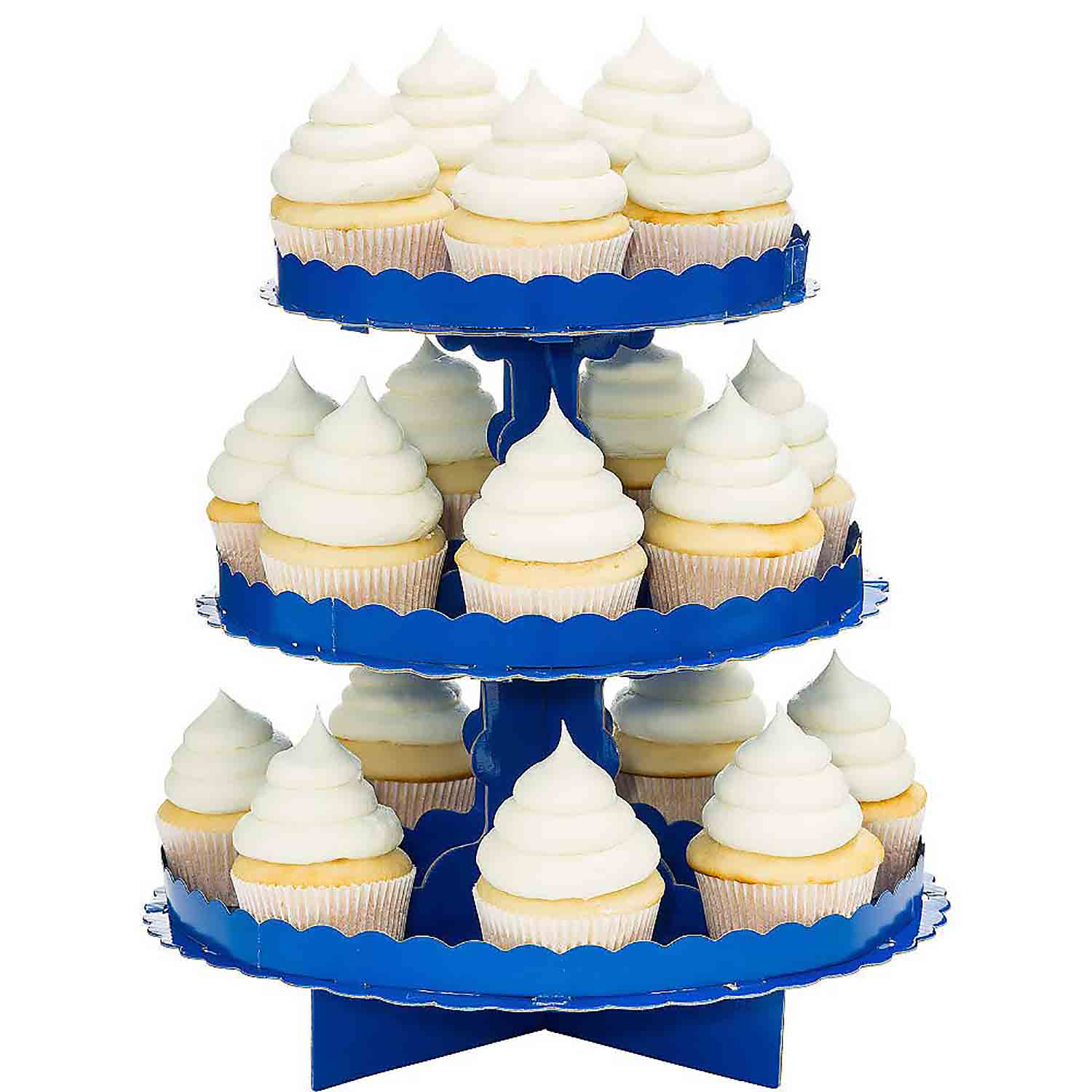 Bright Blue Cupcake Stand