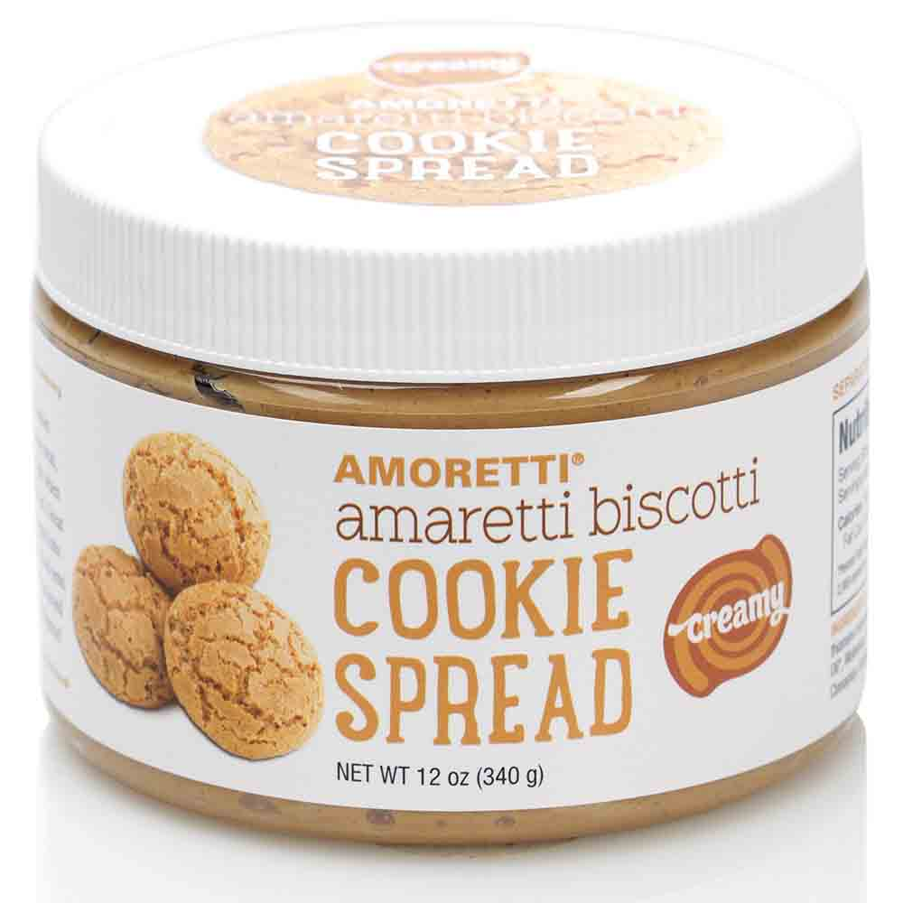 Amaretti Biscotti Cookie Spread