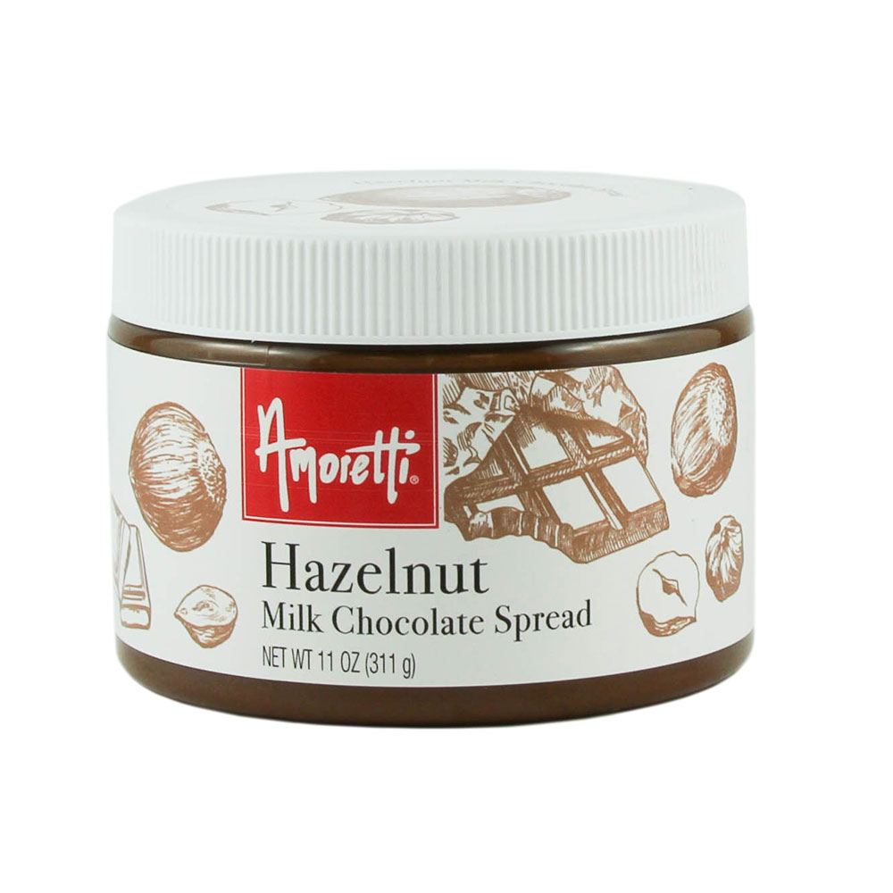 Hazelnut Milk Chocolate Spread by Amoretti