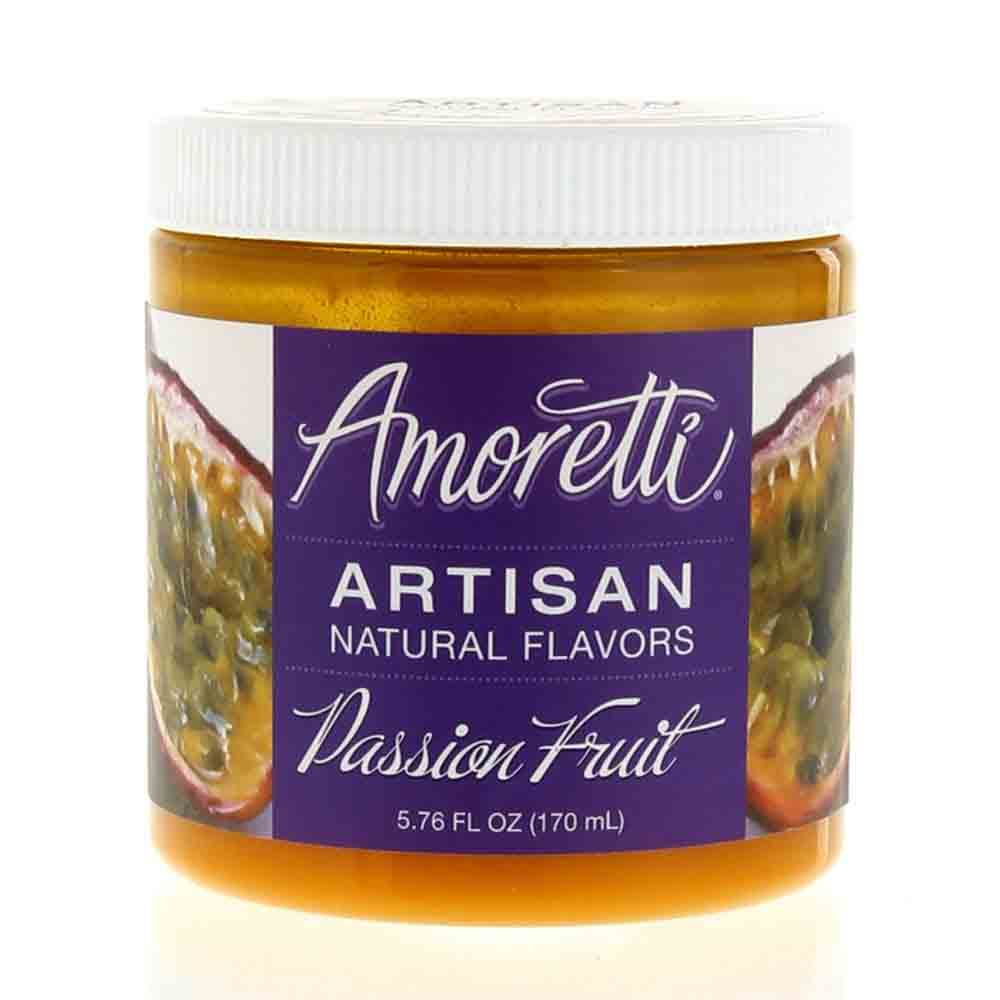 Passion Fruit Artisan Natural Flavors by Amoretti