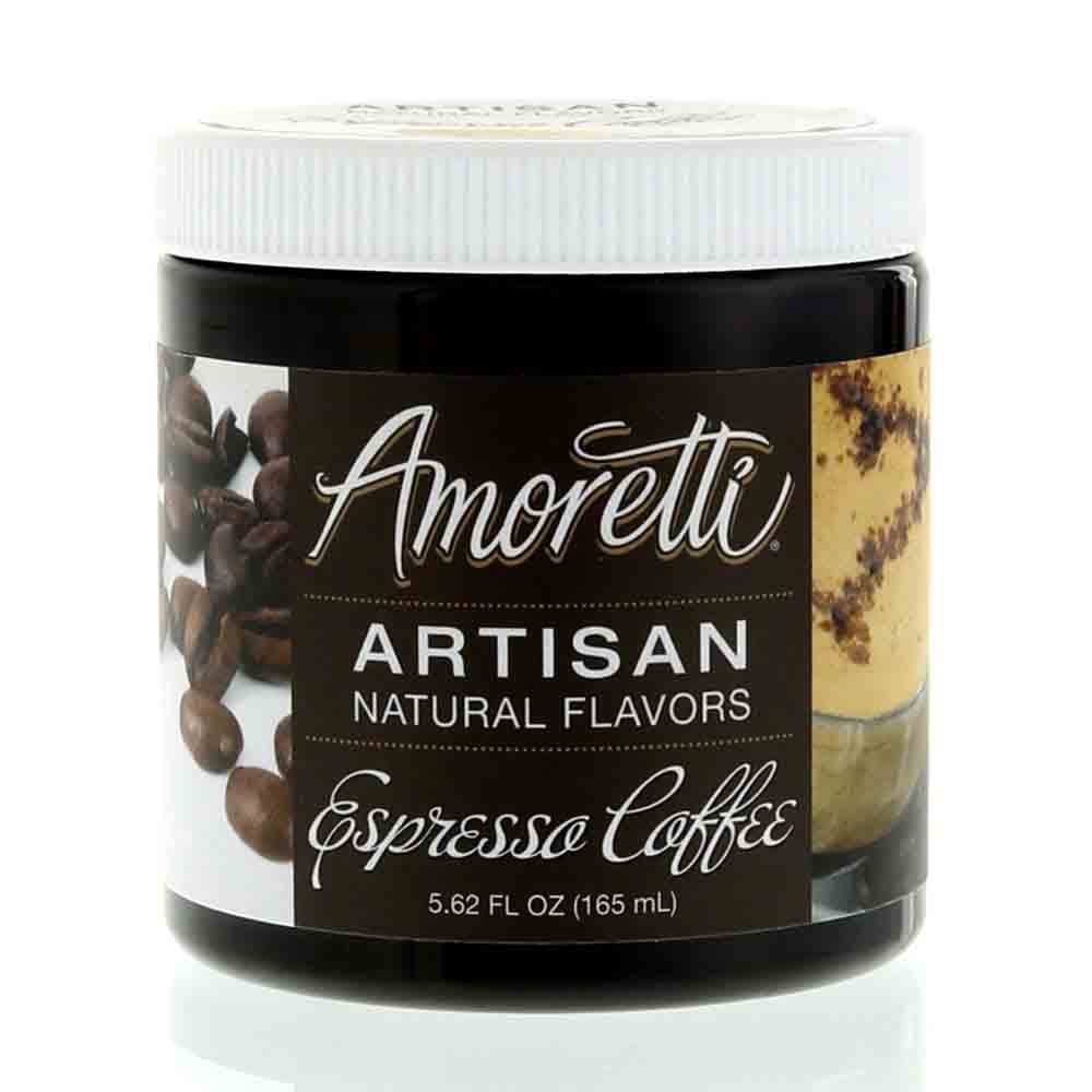 Espresso Coffee Artisan Natural Flavors by Amoretti