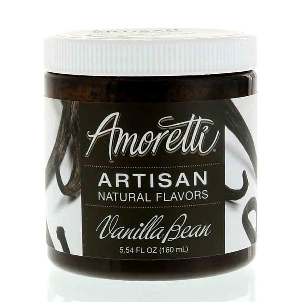 Vanilla Bean Artisan Natural Flavors by Amoretti
