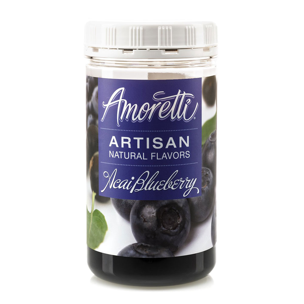 Acai Blueberry Artisan Natural Flavors by Amoretti