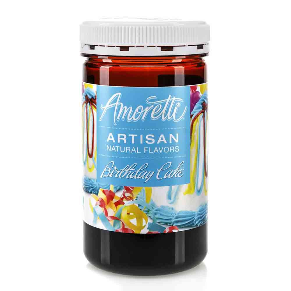 Birthday Cake Artisan Natural Flavors by Amoretti