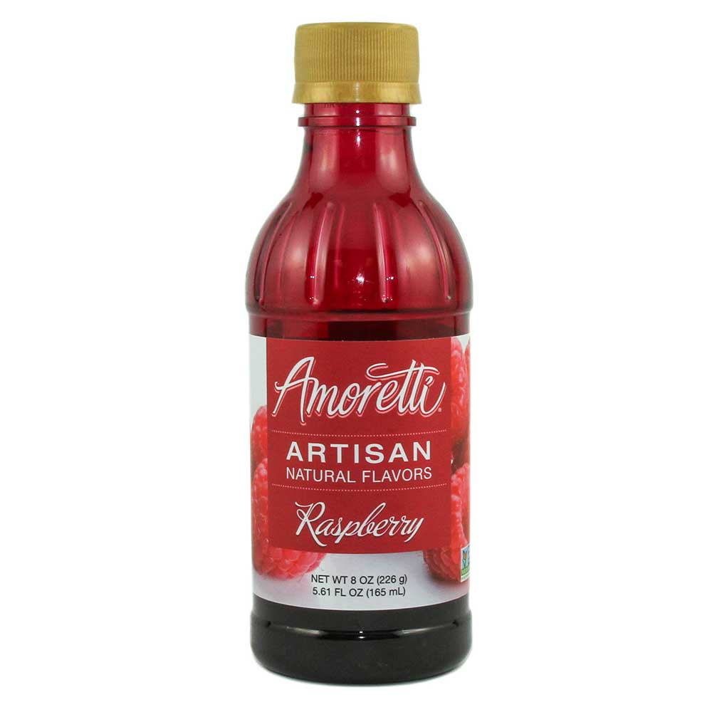 Raspberry Artisan Natural Flavors by Amoretti