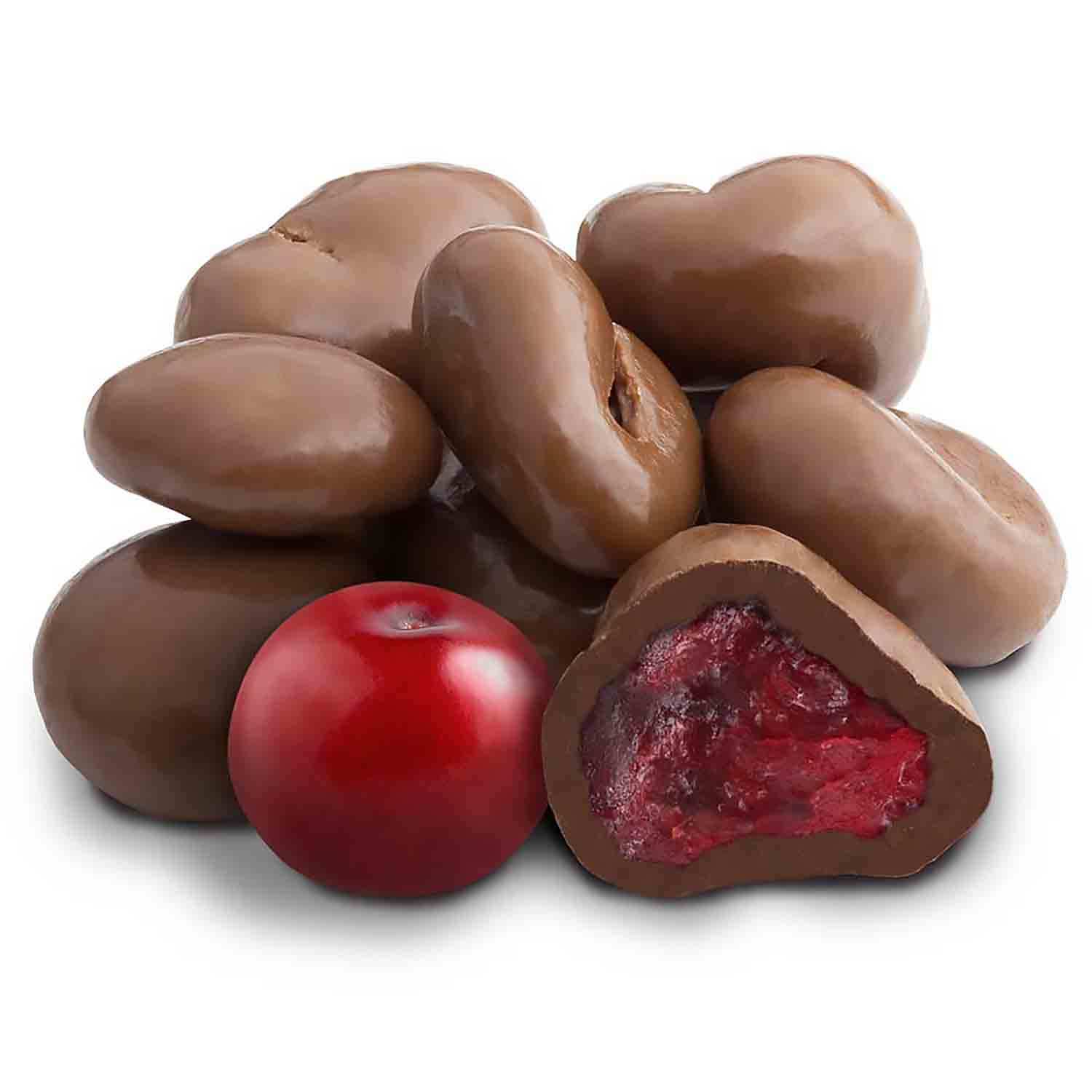 Milk Chocolate Covered Dried Cranberries