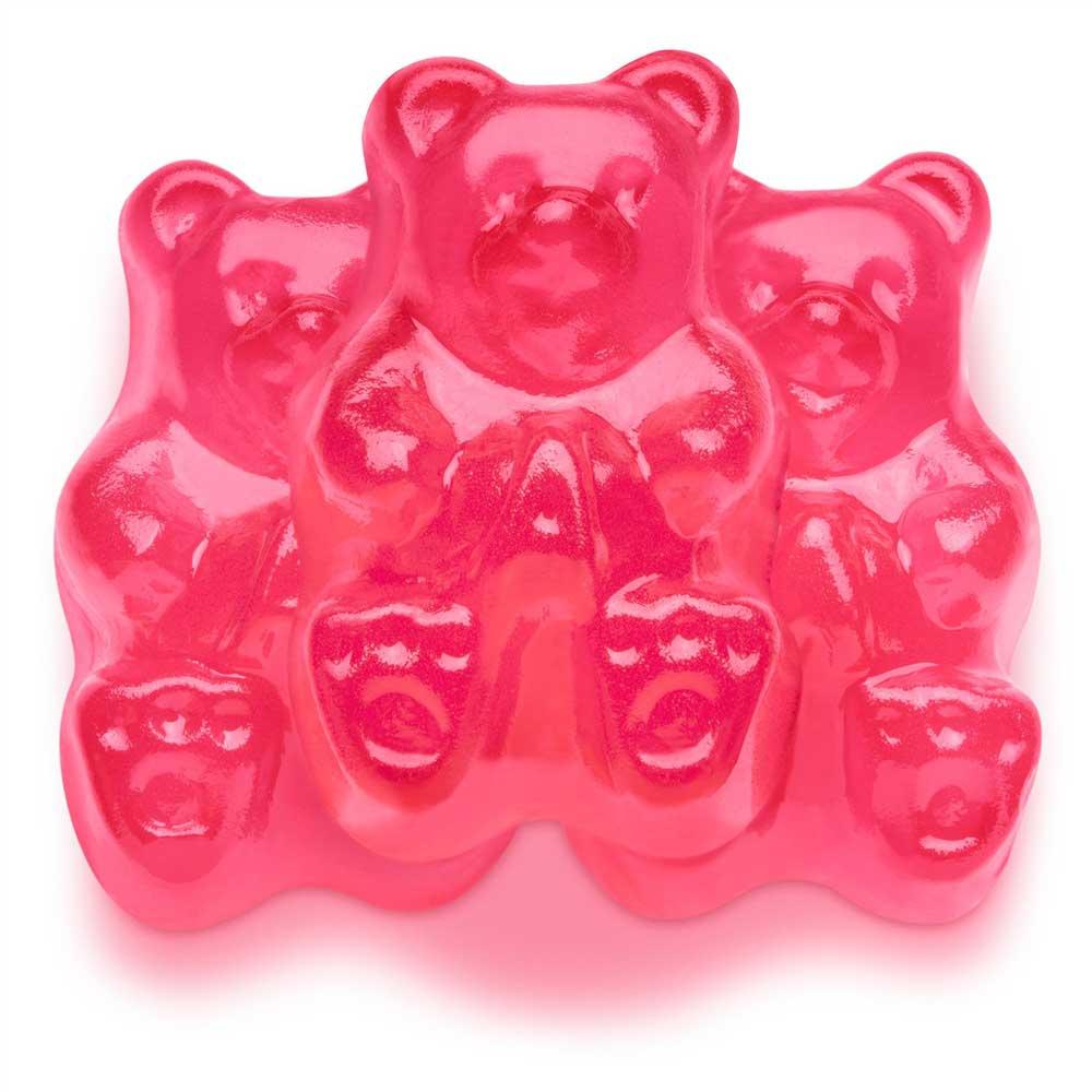 Pink Watermelon Gummi Bears
