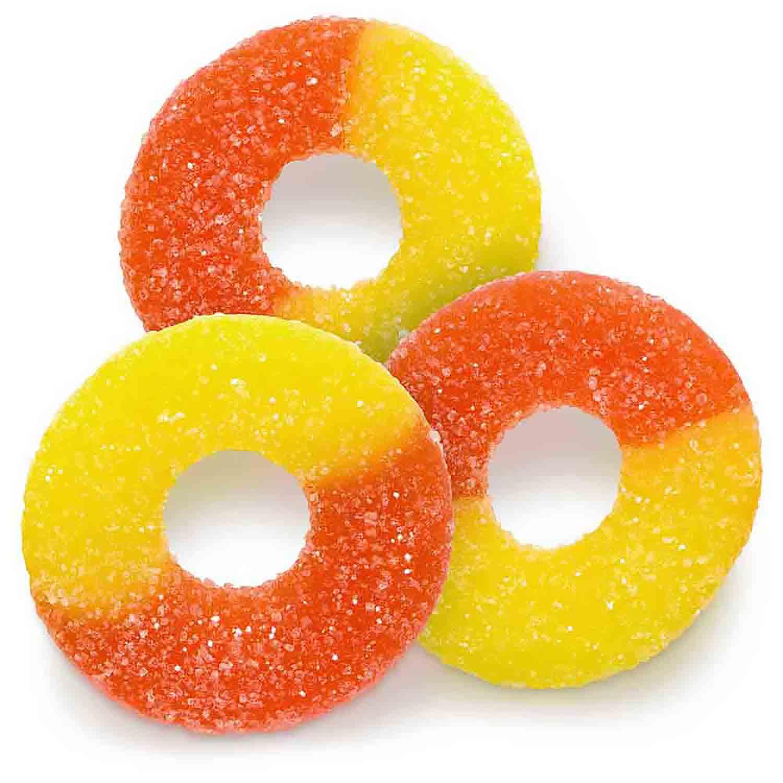 Peach Gummi Rings