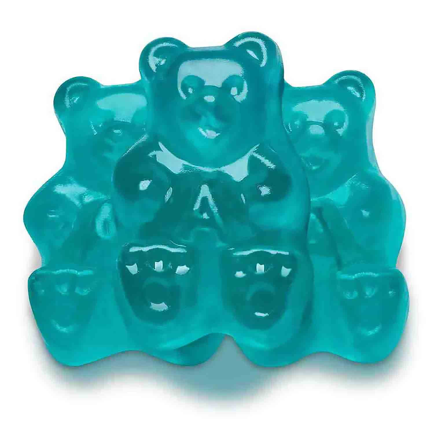 Blue Watermelon Gummi Bears