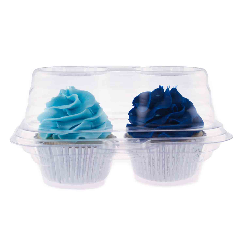 Plastic Shell - 2 Ct. Standard Cupcake