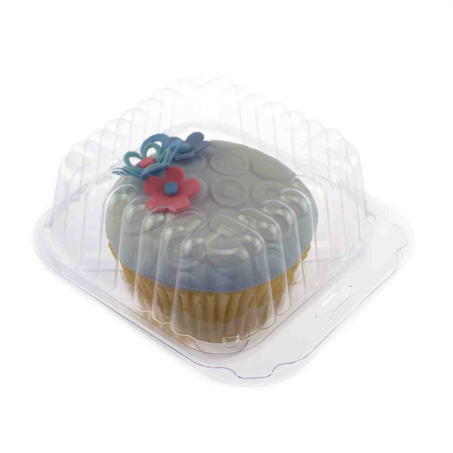 Plastic Shell - Holds One Jumbo Size Cupcake