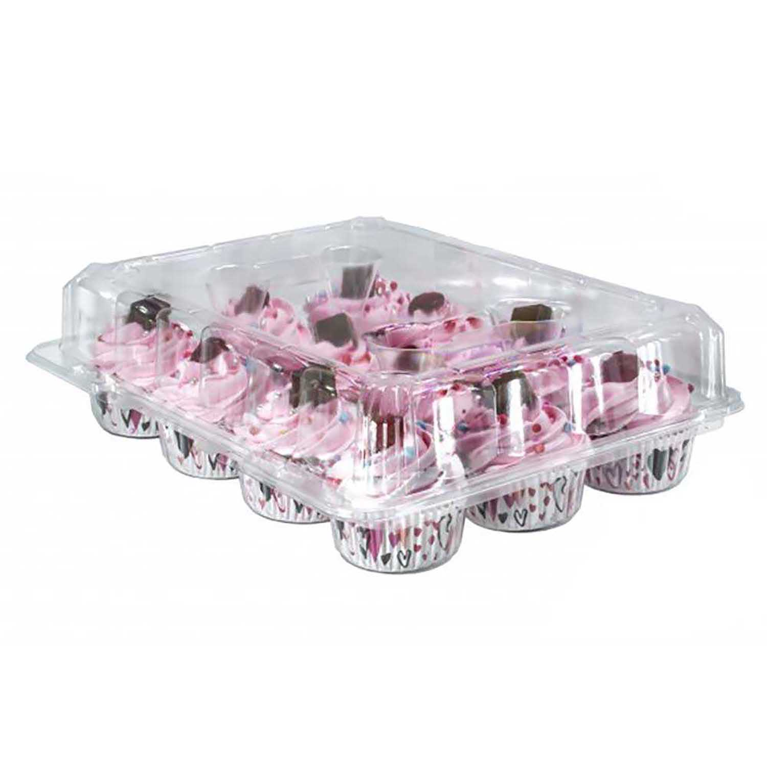 Plastic Shell - Holds 12 Standard Size Cupcakes