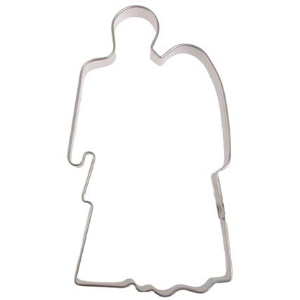 Bride and Groom Cookie Cutter