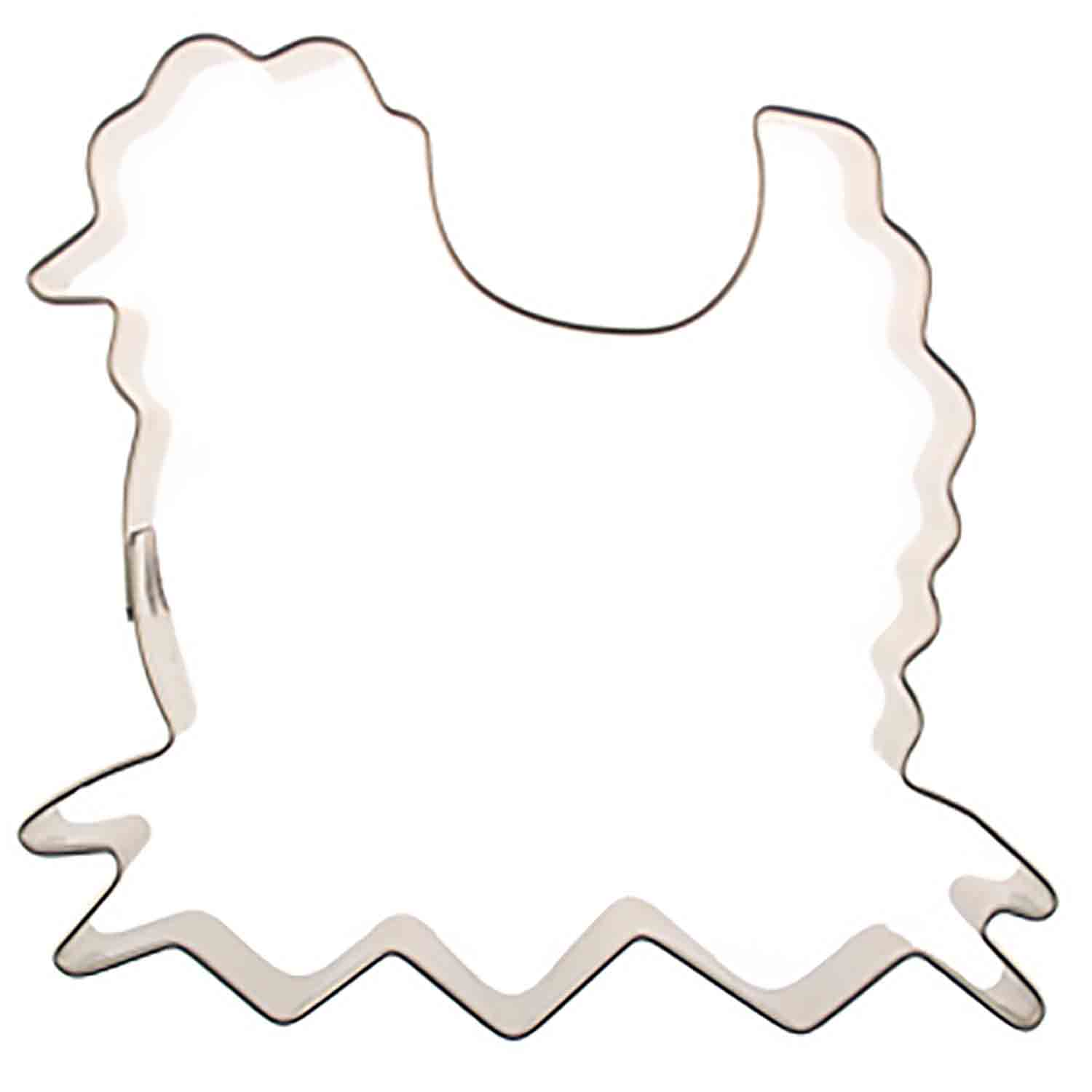 Chicken on Nest Cookie Cutter