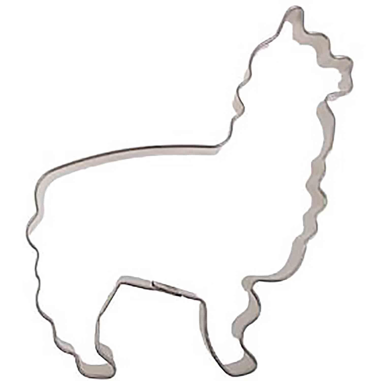 Alpaca/ Llama Cookie Cutter