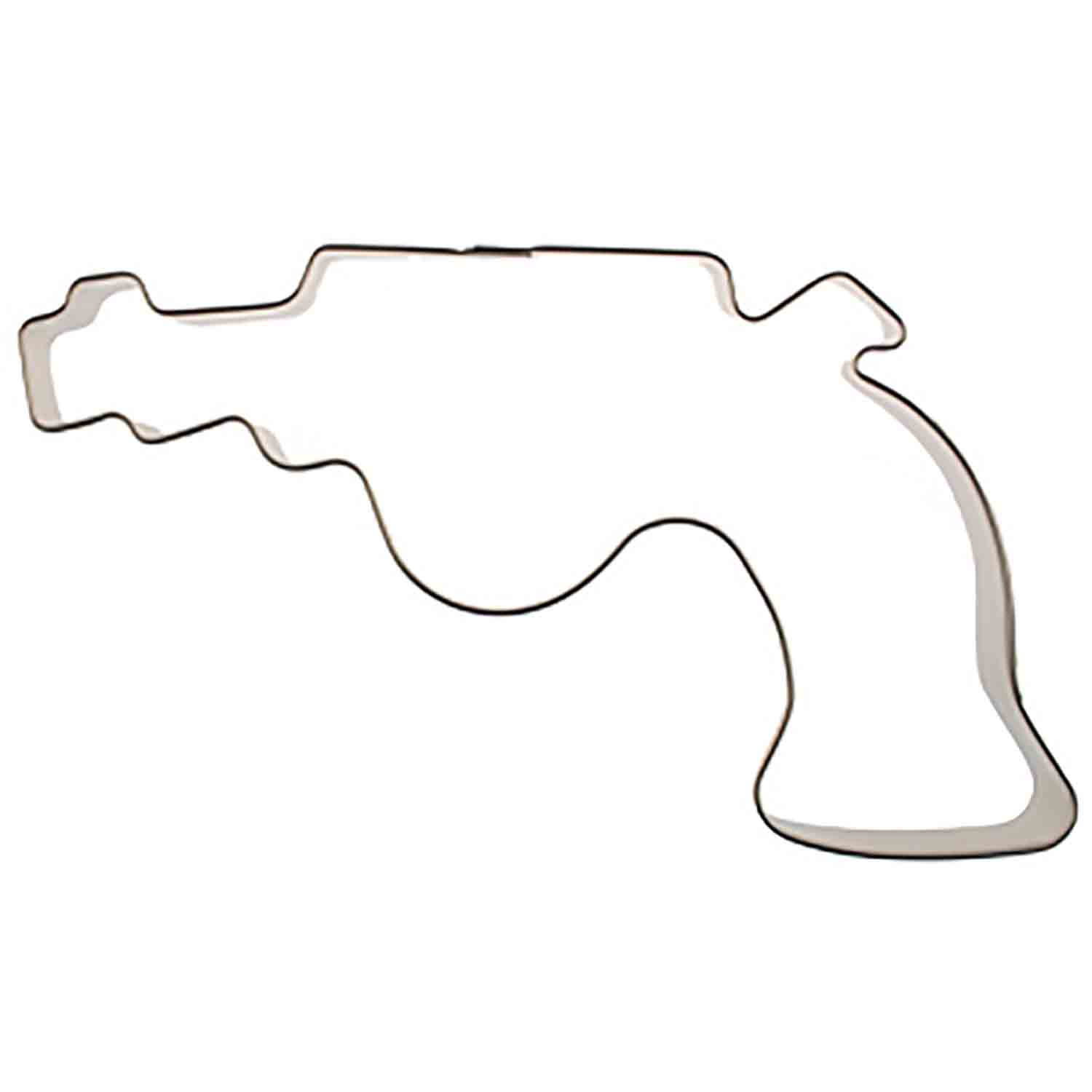 Gun/Revolver Cookie Cutter