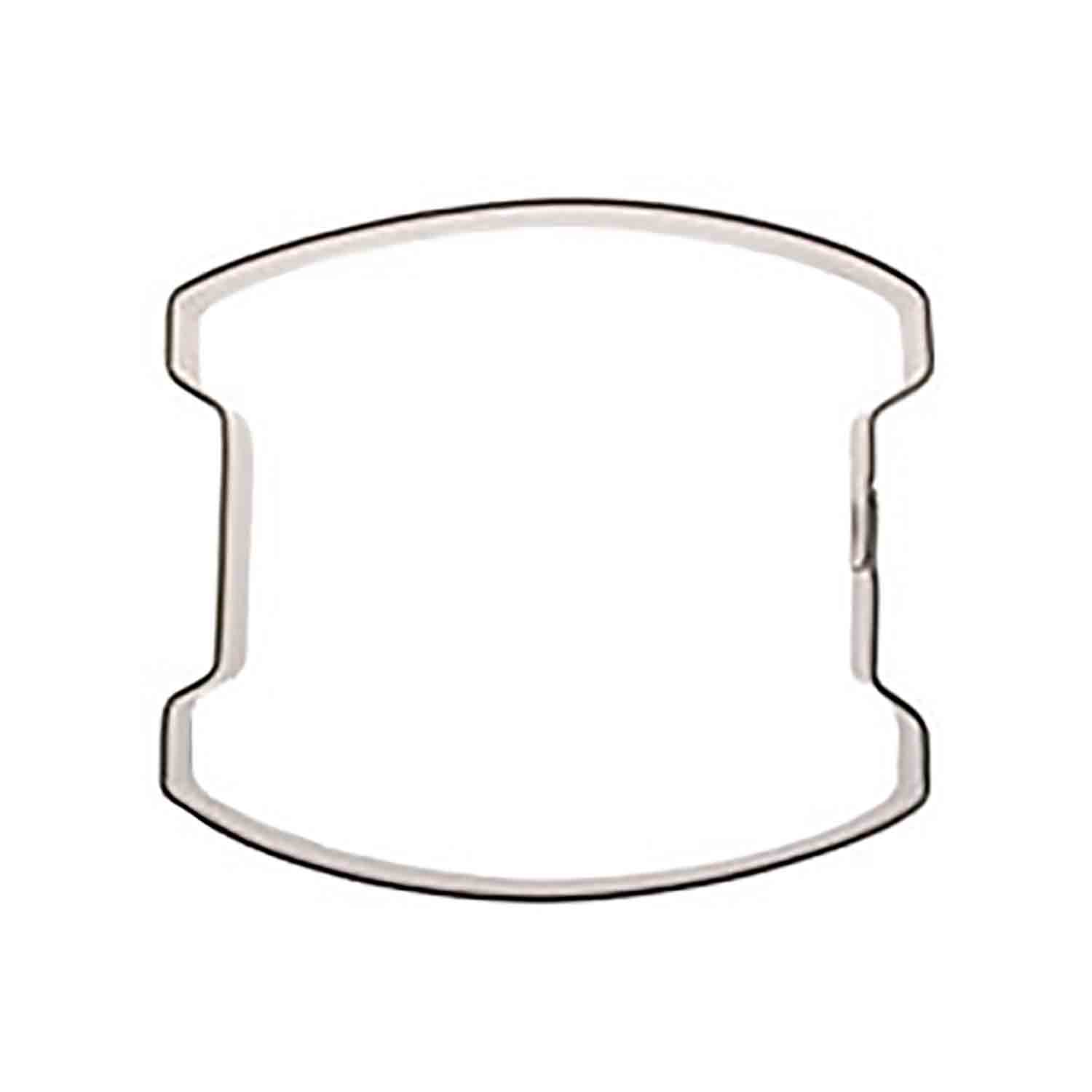 Small Drum Cookie Cutter