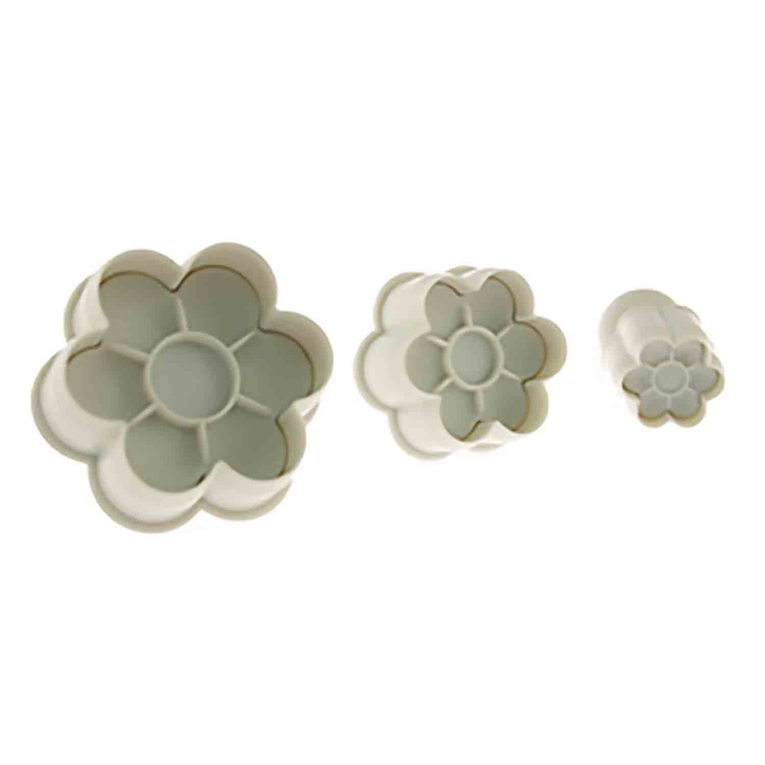 6 Petal Flower Plunger Cutter Set