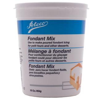 Powdered Poured Fondant Mix