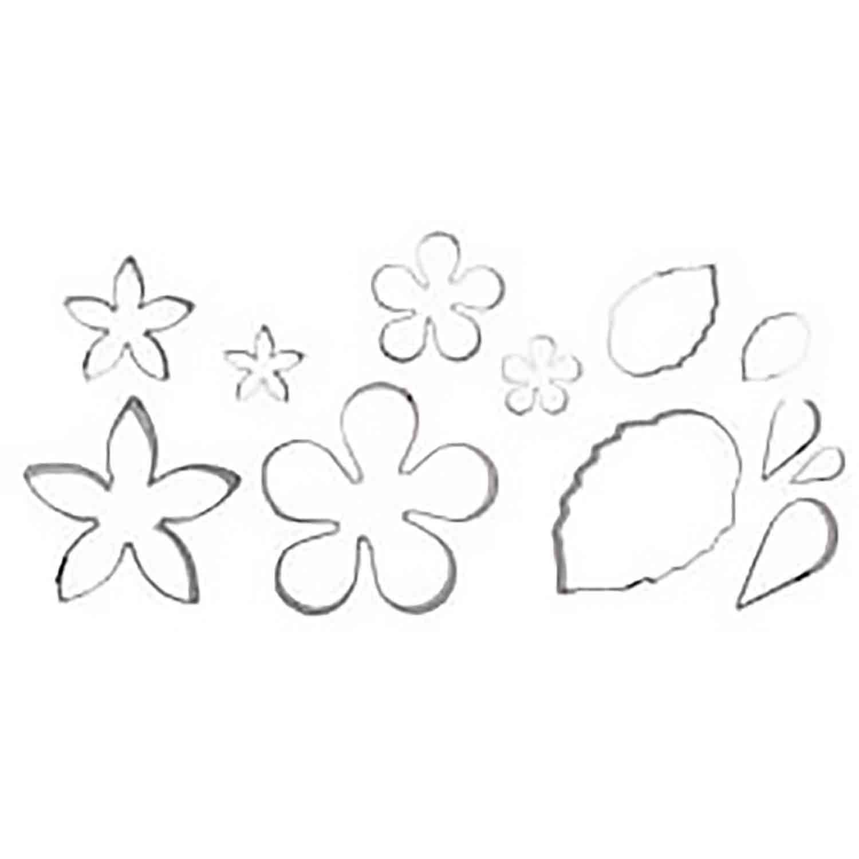 Flower and Leaf Cutter Set