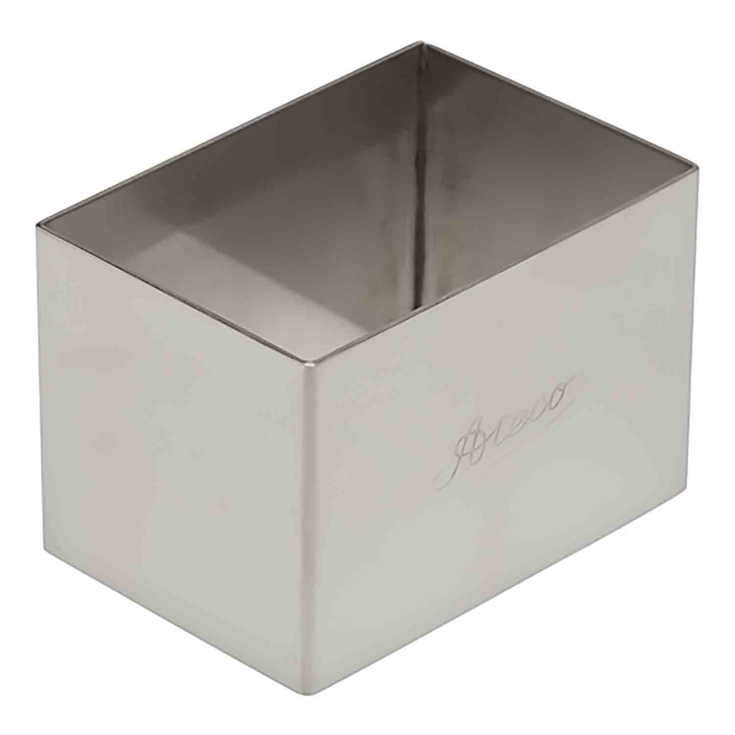 Country Kitchen Fort Wayne: Stainless Steel Rectangle Cookie Cutter