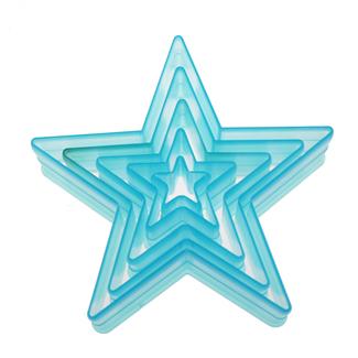 Star Plastic Cutter Set