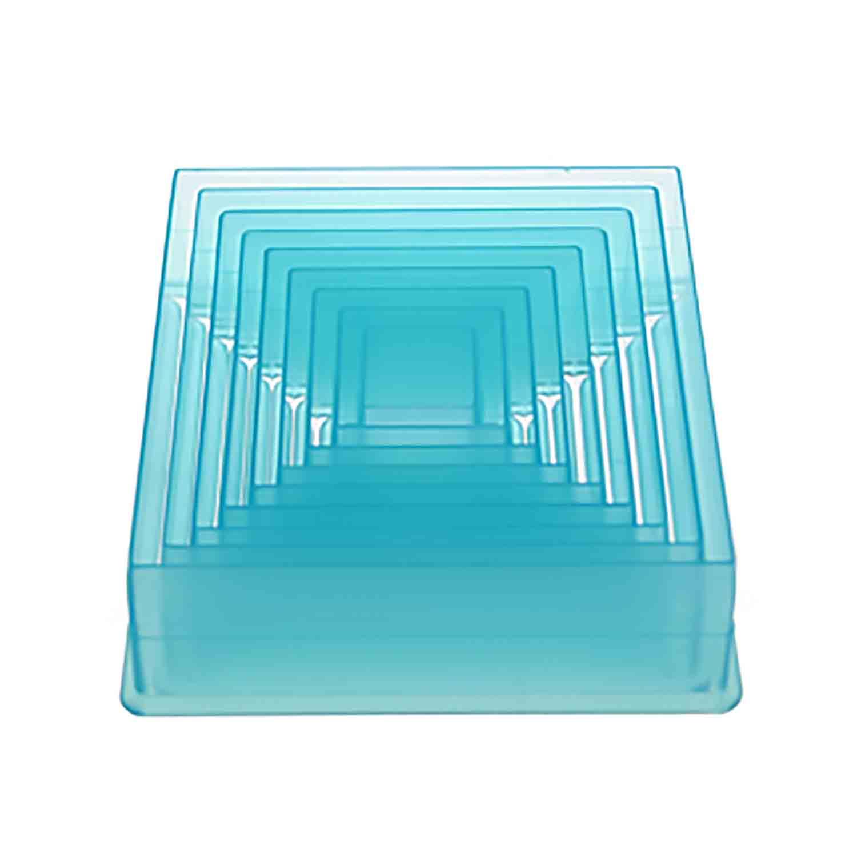 Square Plastic Cutter Set