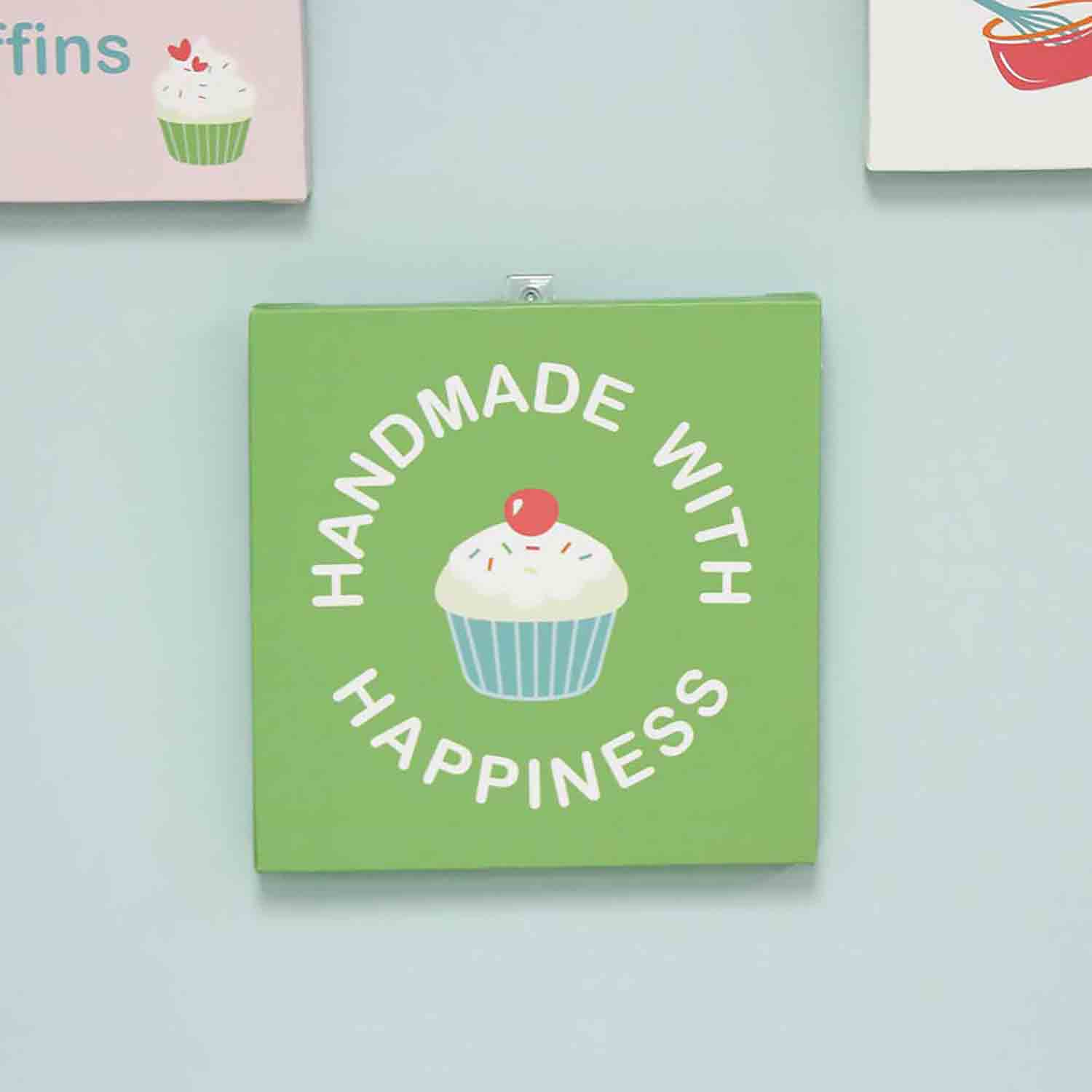 Handmade with Happiness Wall Art