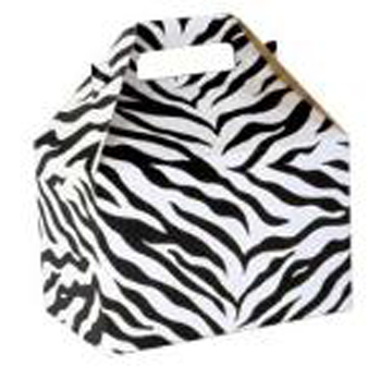 4 lb. Zebra Stripe Treat Box