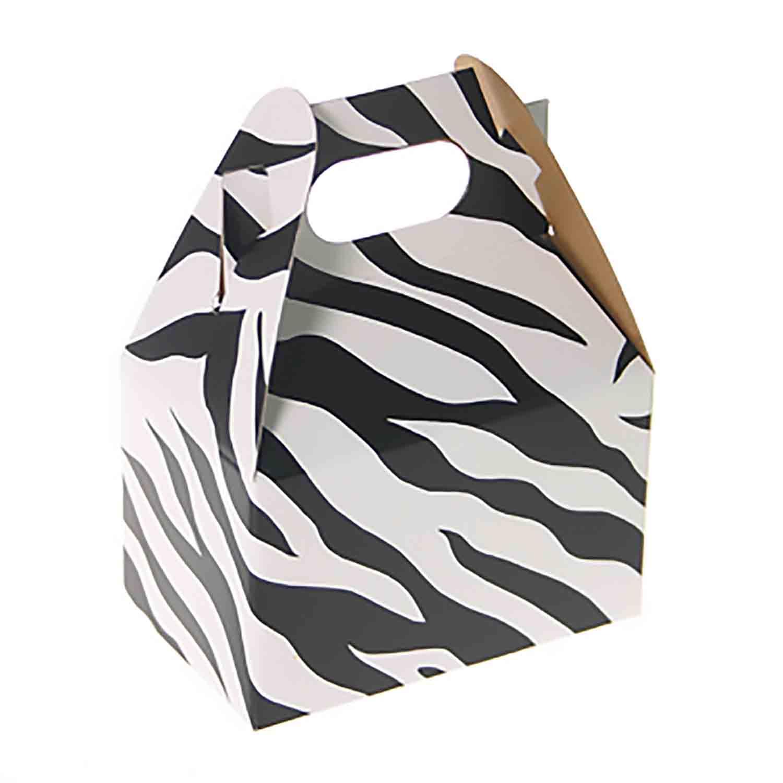 1/2 lb. Zebra Stripe Mini Treat Box