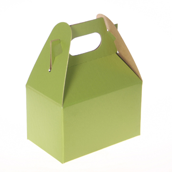 1/2 lb. Shimmer Frost Leaf Mini Treat Box