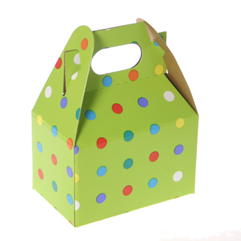 1/2 lb Party Dots Mini Treat Box