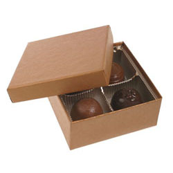 4 Pc. Copper Candy Box