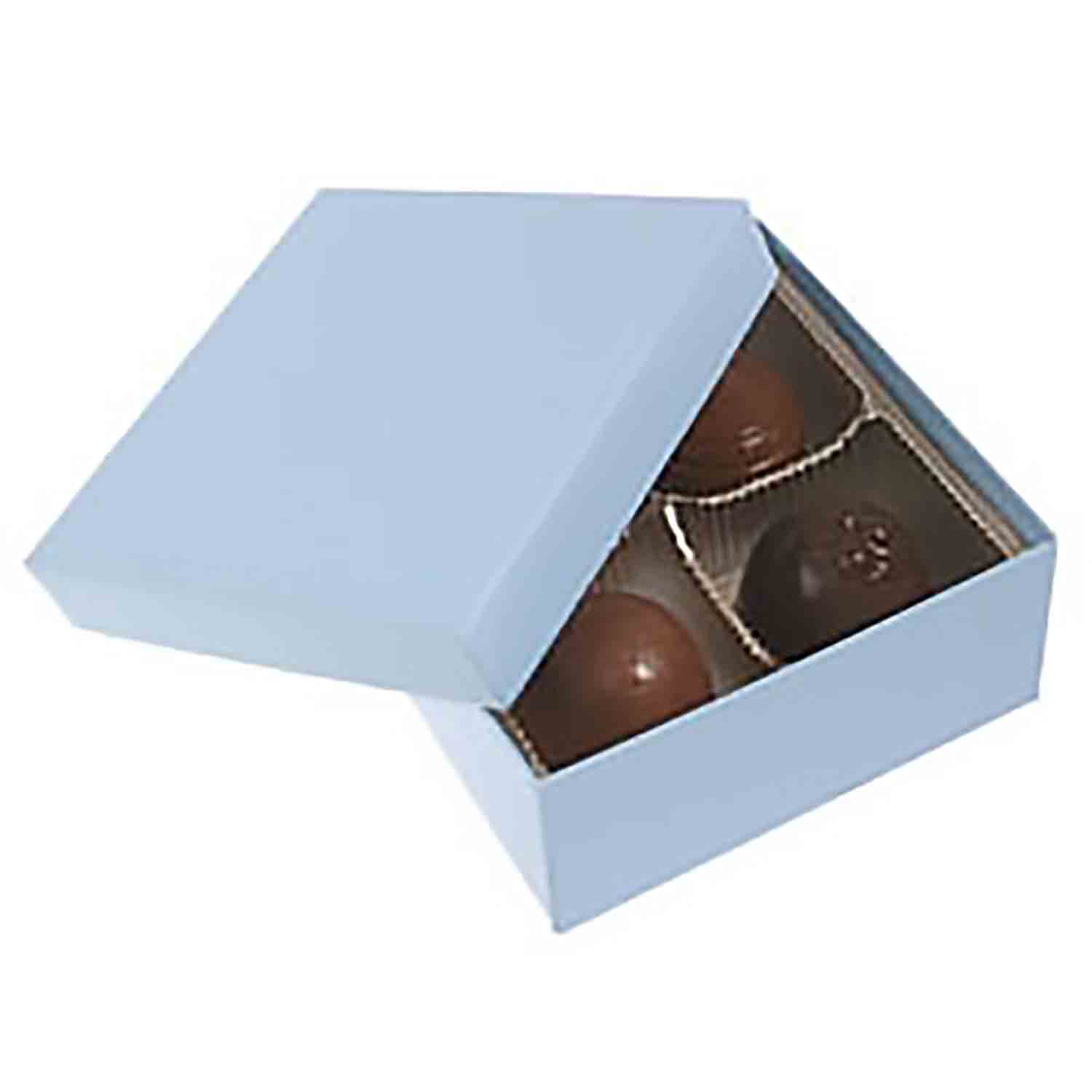4 Pc. Powder Blue Candy Box