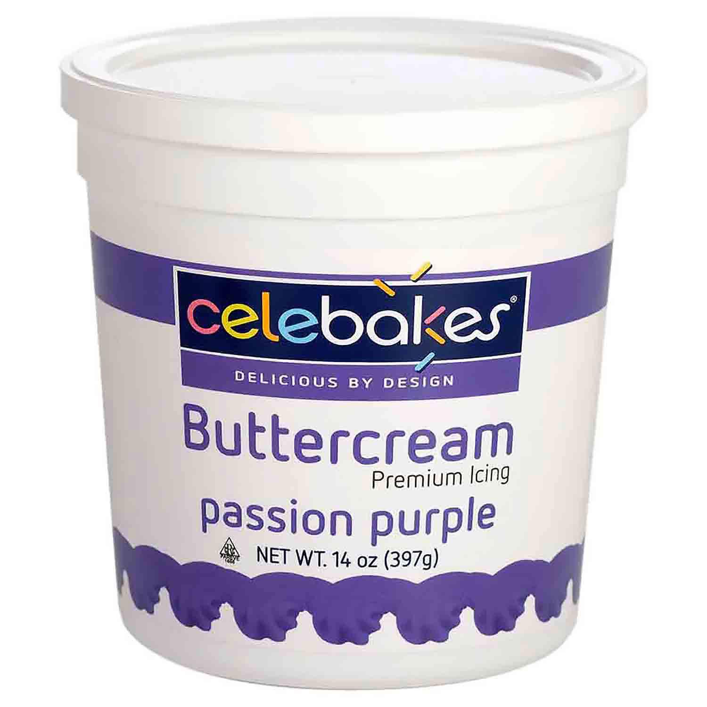 Purple Decorating Buttercream Icing