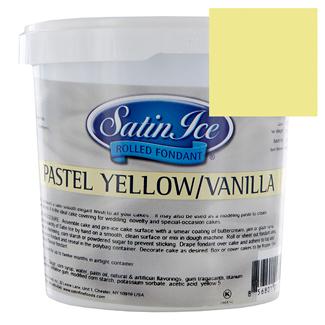 Pastel Yellow Rolled Fondant