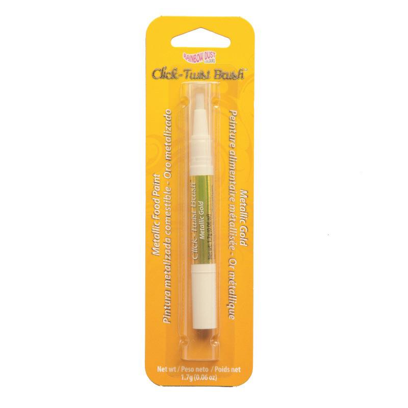 Metallic Gold Click-Twist Brush