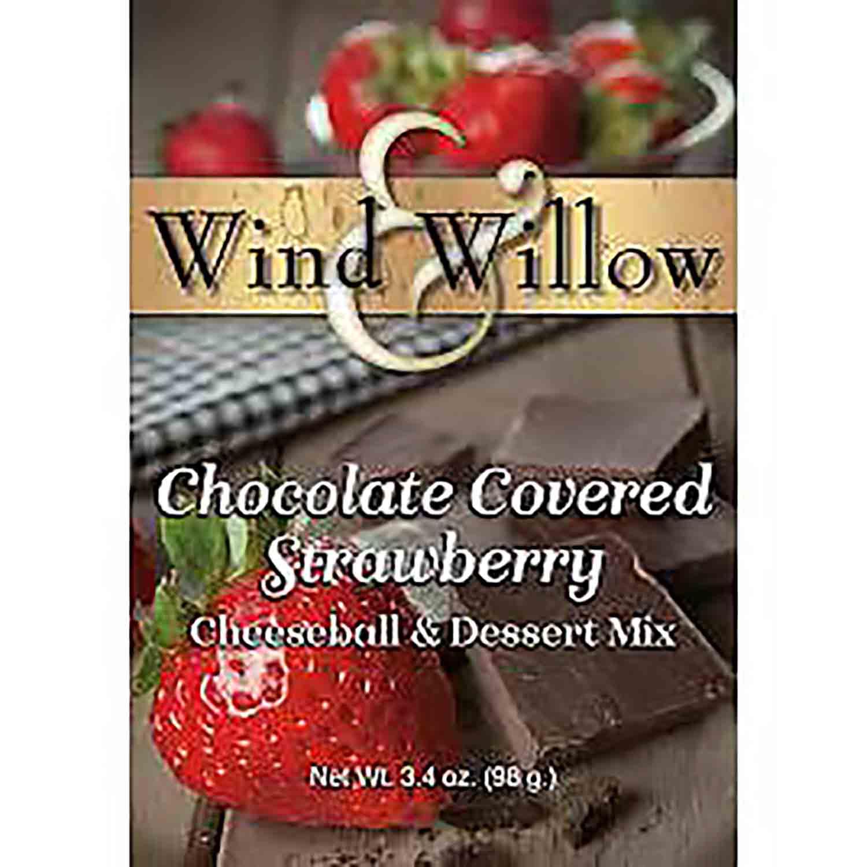 Chocolate Covered Strawberry Cheeseball Mix