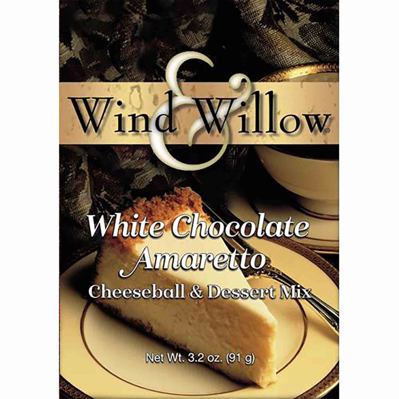 White Chocolate Amaretto Cheeseball Mix